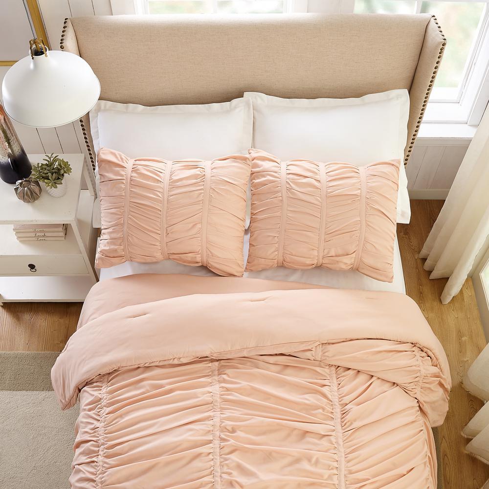 Modern Heirloom Emily Texture 2 Piece, Twin Long Bedding
