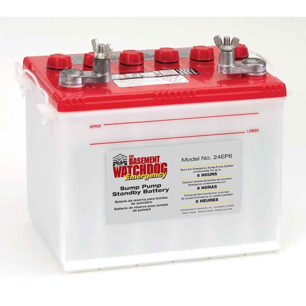 Basement Watchdog Emergency Standby Battery