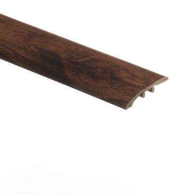 Dark Walnut 5/16 in. Thick x 1-3/4 in. Wide x 72 in. Length Vinyl Multi-Purpose Reducer Molding