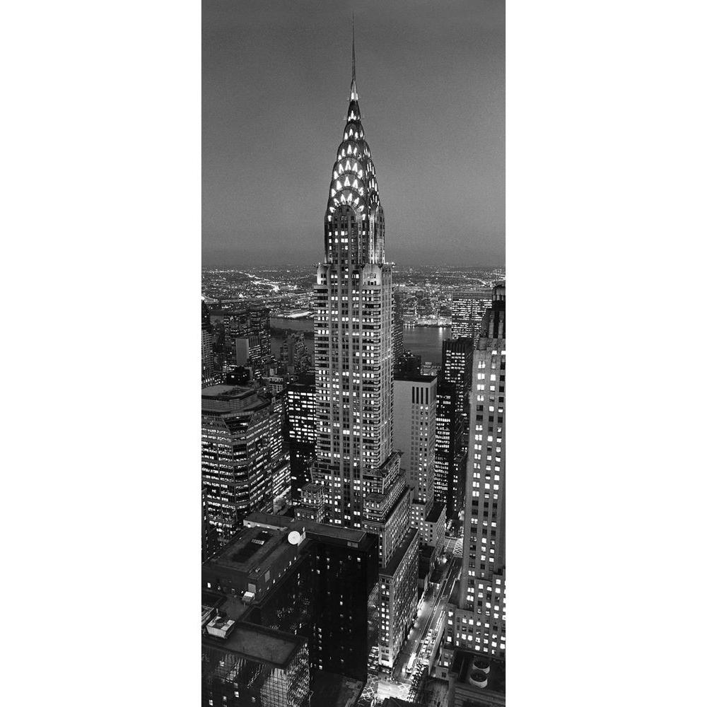 Ideal Decor 79 in. x 34 in. Chrysler Building Wall Mural