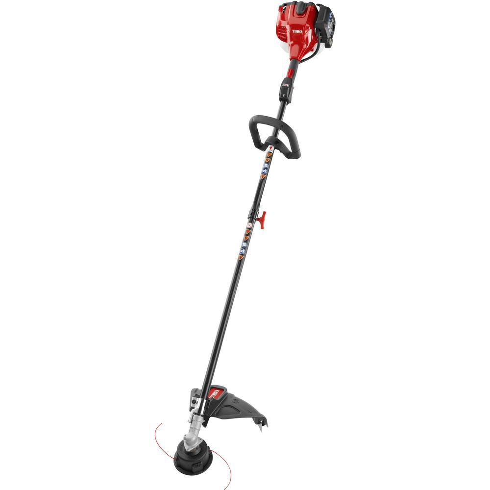 toro reconditioned 2 cycle 25 4cc attachment capable gas straight rh homedepot com toro gas weed trimmer manual toro gas trimmer service manual