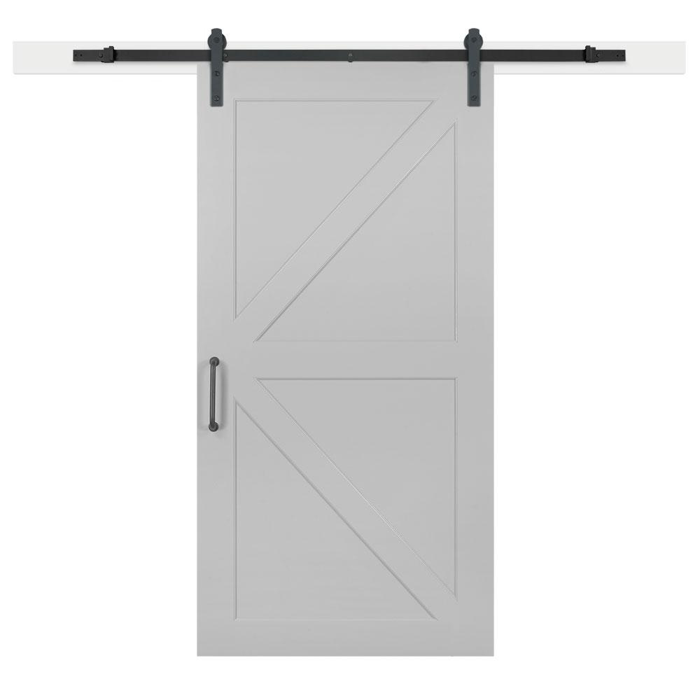 Jeff Lewis 42 In X 84 In Gray Geese Composite K Bar Solid Core Mdf
