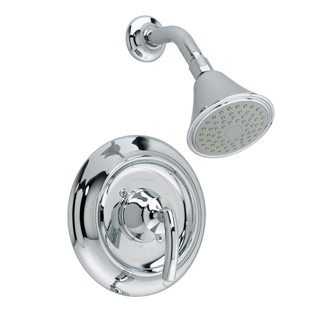 American Standard Tropic 1-Handle Shower Faucet Trim Kit in Chrome (Valve Not Included)