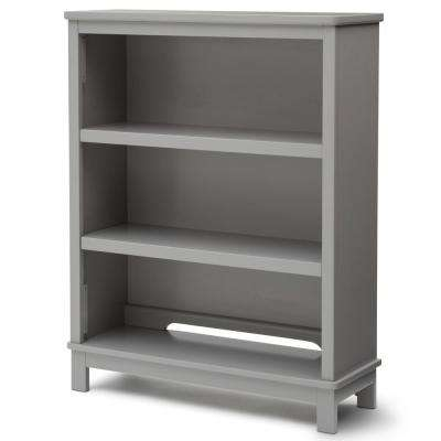 Universal 3-Shelf Gray Bookcase