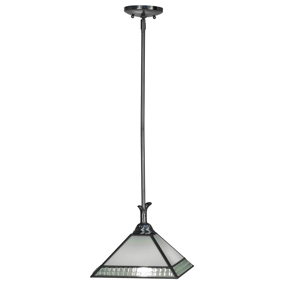 Albion 1-Light Satin Nickel Mini Pendant