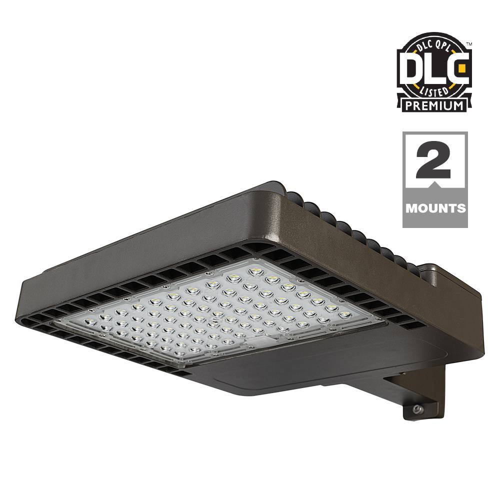 probrite dark bronze outdoor integrated led commercial area light