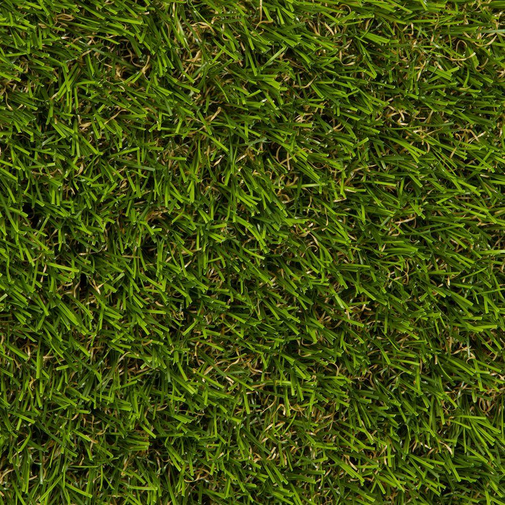 Grande Artificial Grass Synthetic Lawn Turf, Sold by 15 ft. Wide