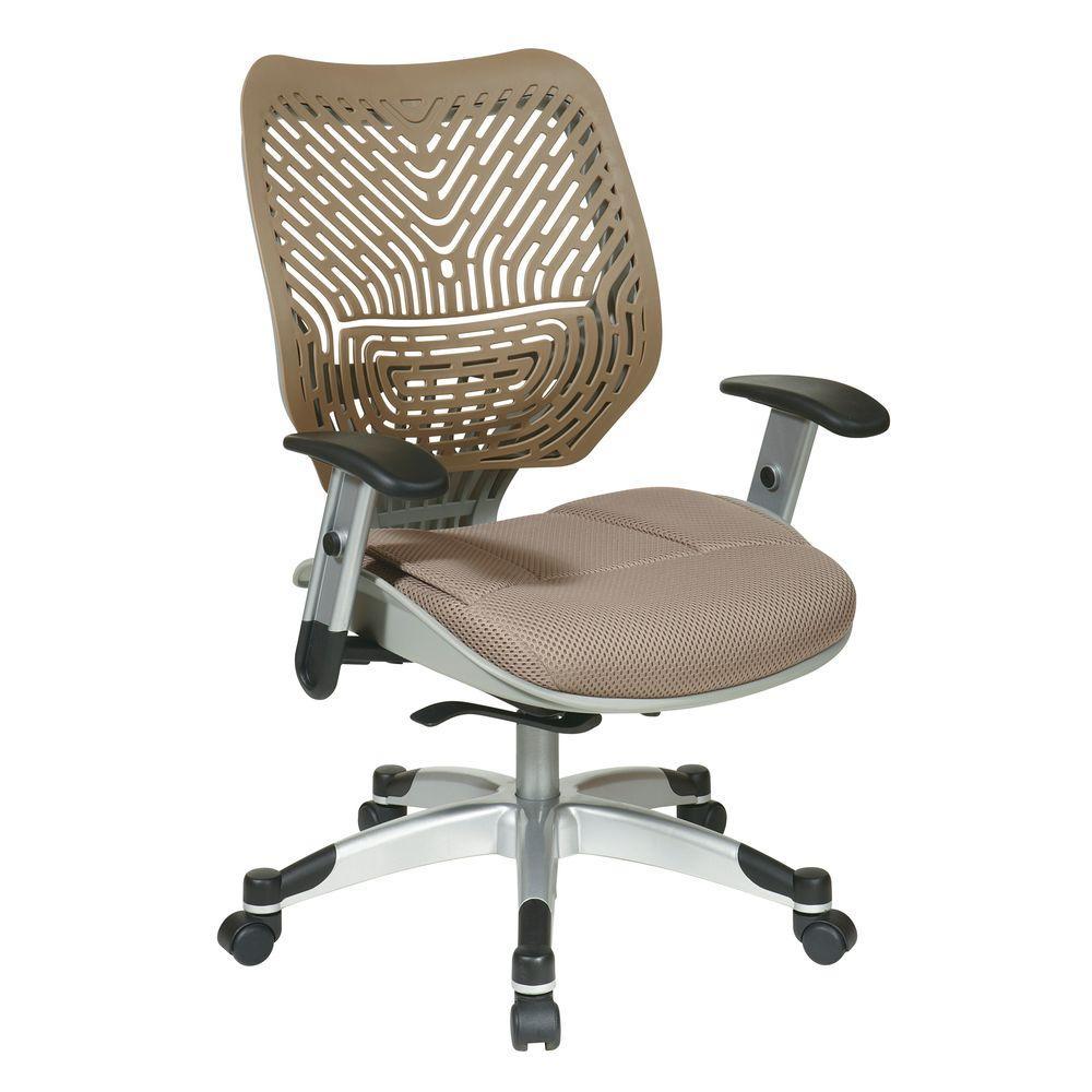 Revv Tan SpaceFlex Self Adjusting Manager Office Chair