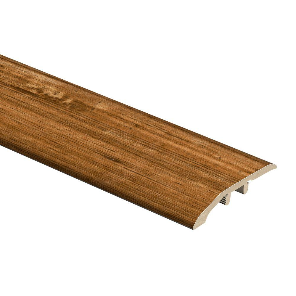 Zamma Spotted Gum Natural 5/16 in. Thick x 1-3/4 in. Wide x 72 in. Length Vinyl Multi Purpose Reducer Molding