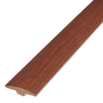 Saddle 5/8 in. Thick x 2 in. Wide x 78 in. Length Engineered Hardwood T-Molding