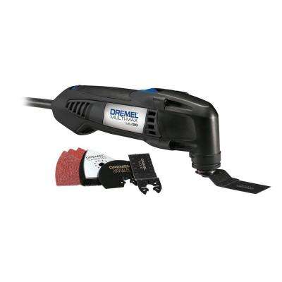 Multi-Max 2.3 Amp Variable Speed Corded Oscillating Multi-Tool Kit with 6 Accessories