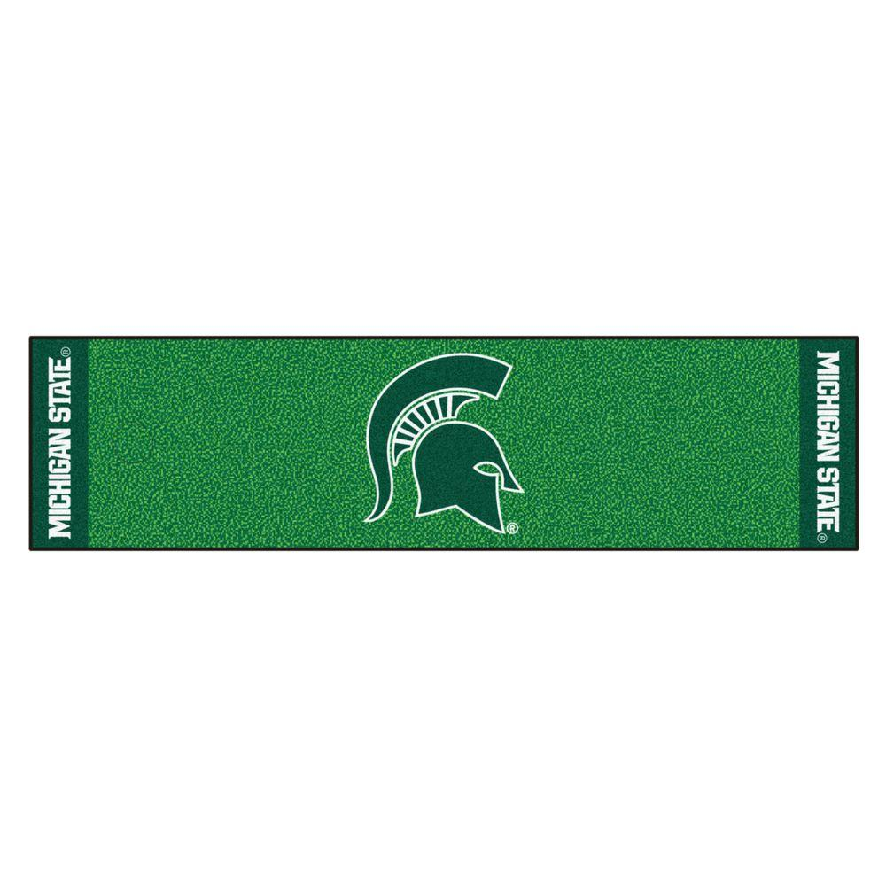 NCAA Michigan State University 1 ft. 6 in. x 6 ft.
