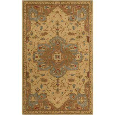Demetrios Mocha 12 ft. x 15 ft. Indoor Area Rug