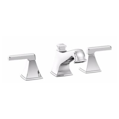 Connelly 8 in. Widespread 2-Handle Bathroom Faucet in Polished Chrome