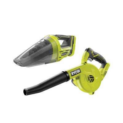 18-Volt ONE+ Lithium-Ion Cordless Compact Workshop Blower and Hand Vacuum (Tools Only)
