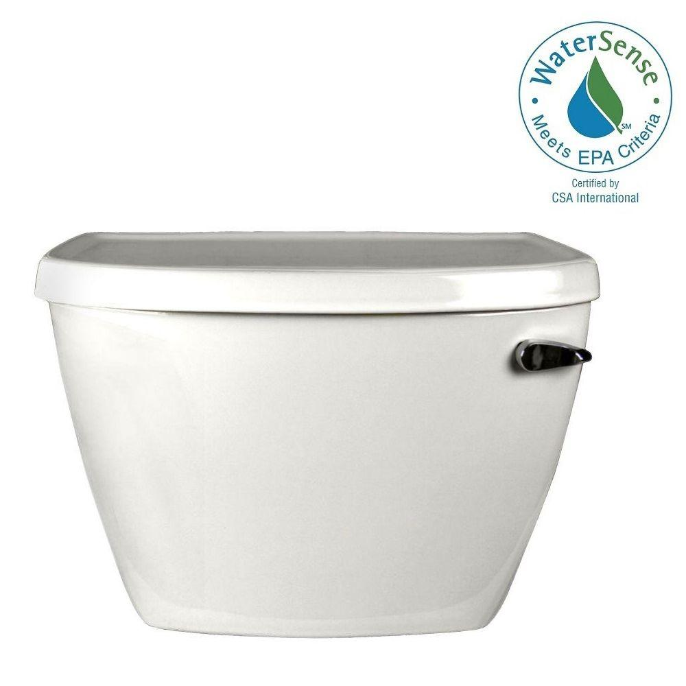 American Standard Cadet Pressure-Assisted FloWise 1.1 GPF Single Flush Toilet Tank Only in White with Right-Hand Trip Lever