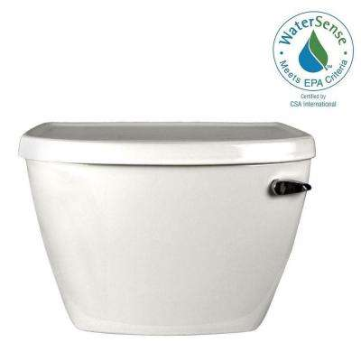 Cadet Pressure-Assisted FloWise 1.1 GPF Single Flush Toilet Tank Only in White with Right-Hand Trip Lever