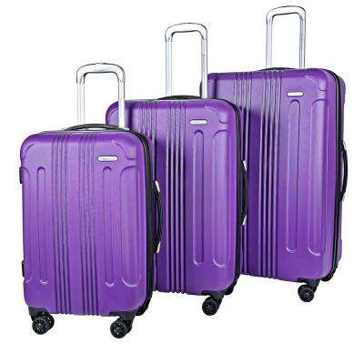 3-Piece Expandable Rolling Hardside Verticals Set with 360° 8-Wheel Spinner System