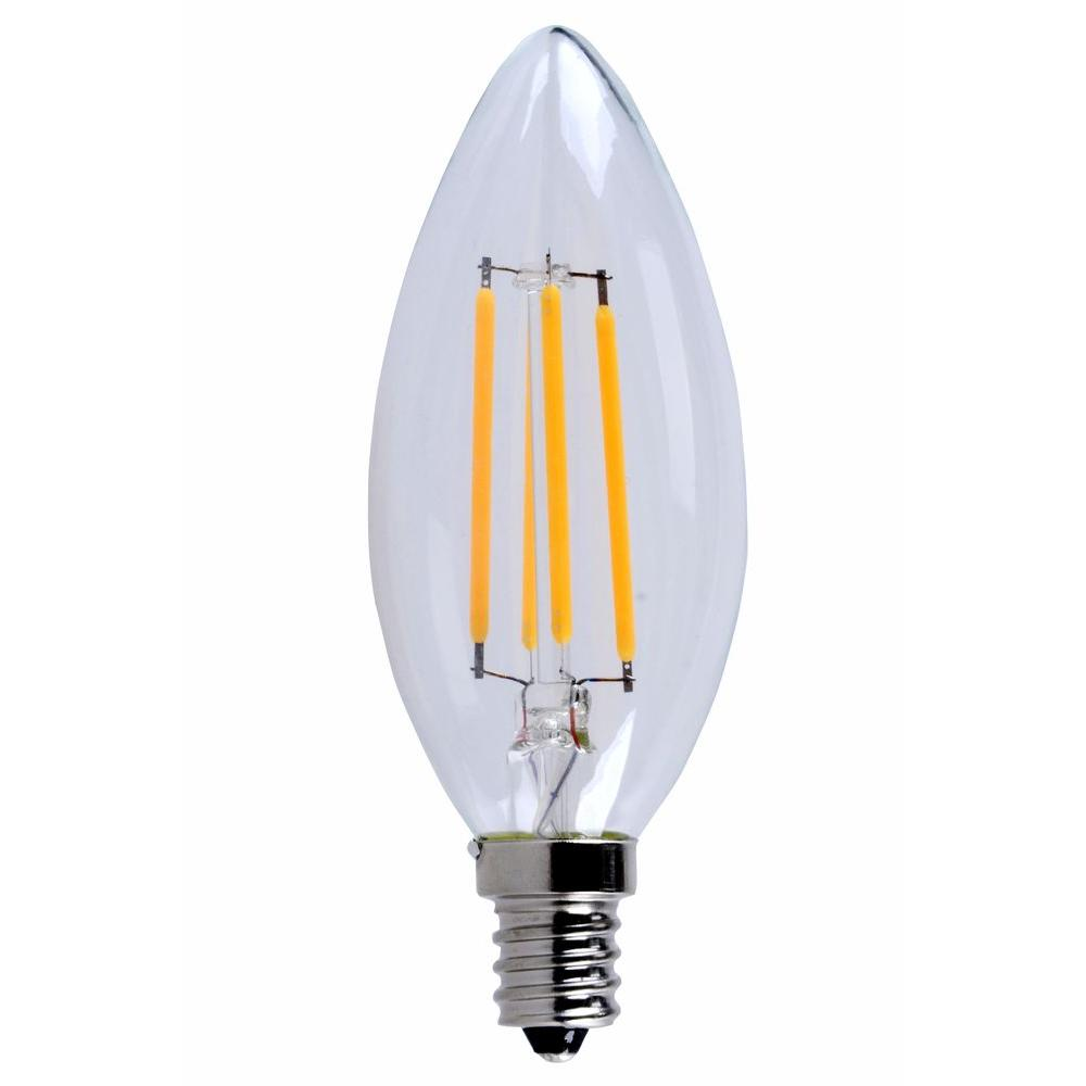 E12 Led Walmart: Elegant Lighting 40W Equivalent Soft White E12 Dimmable