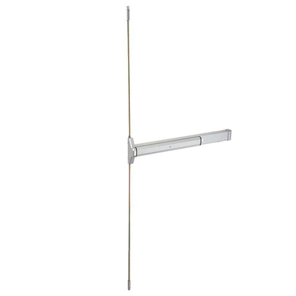 36 in. Aluminum Narrow Stile Concealed Vertical Rod Exit Device