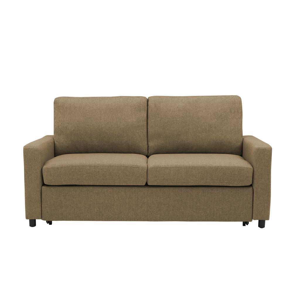 Estes Park Sleeper Sofa in Renu Performance Tested Latte Tan Textured