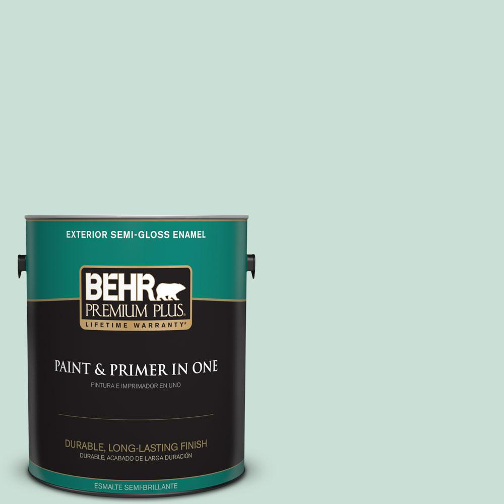 1-gal. #M430-2 Ice Rink Semi-Gloss Enamel Exterior Paint