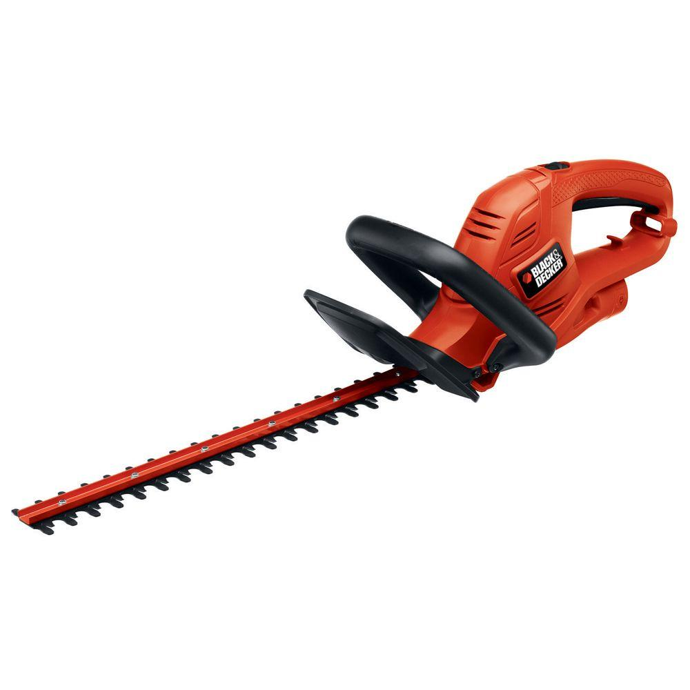 BLACK+DECKER 18 in. 3.5-Amp Corded Electric Hedge Trimmer