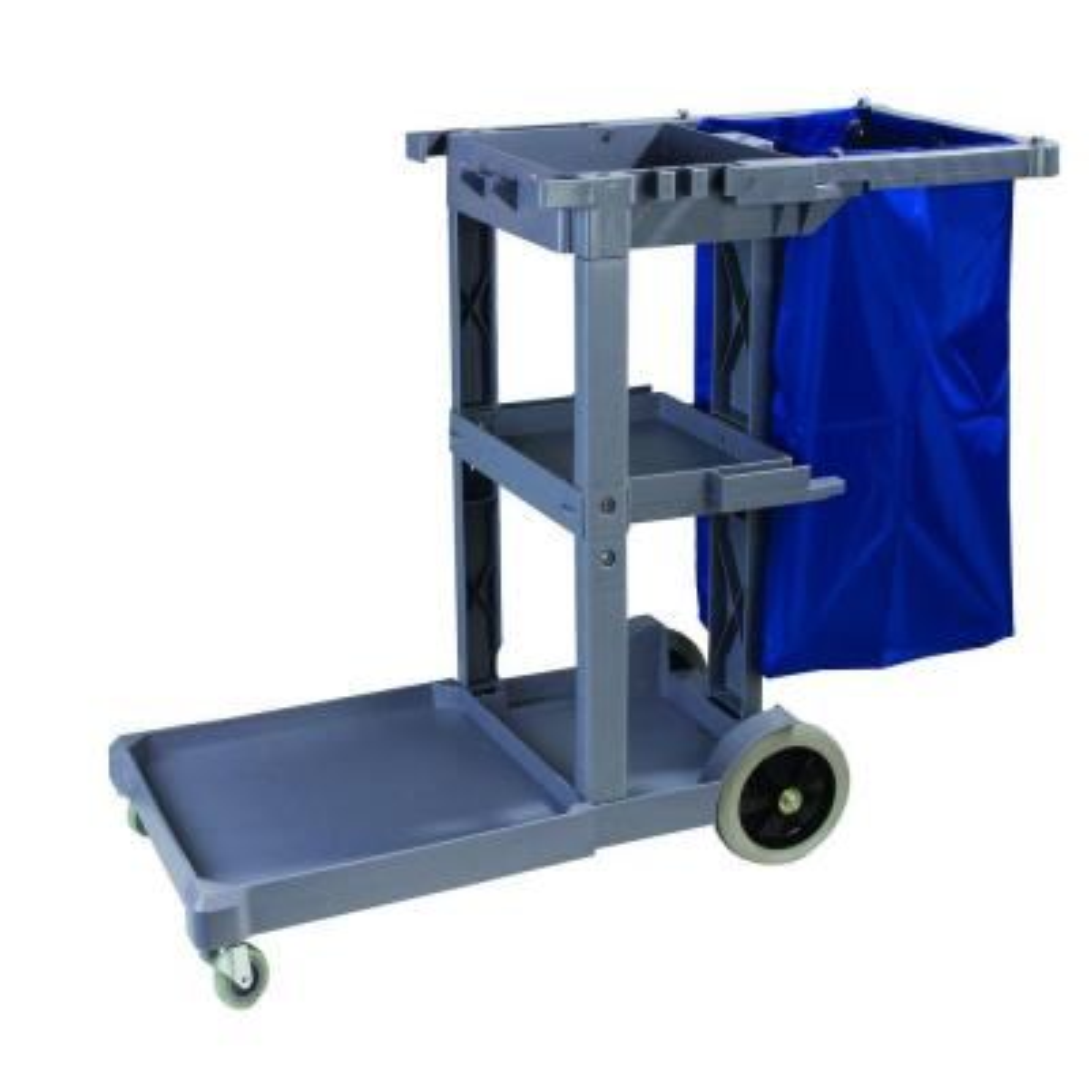 Short Platform Janitorial Cart
