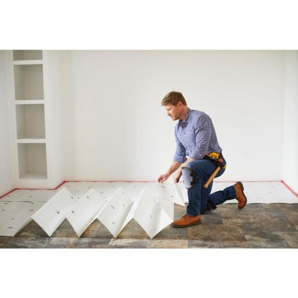 Quictile Vinyl Plank Laminate, Underlayment For Laminate Flooring On Concrete Home Depot