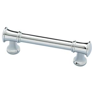 Silverton 3 in. (76mm) Center-to-Center Polished Chrome Drawer Pull (2-Pack)