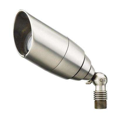 1-Light Stainless Steel Die-Cast Brass Up Light
