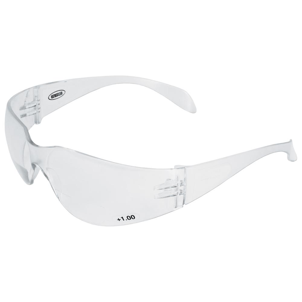 f8ff4c85ce6d ERB 1.5 Power Iprotect Readers Bifocal Eye Protection, Clear Temple and  Clear Lens