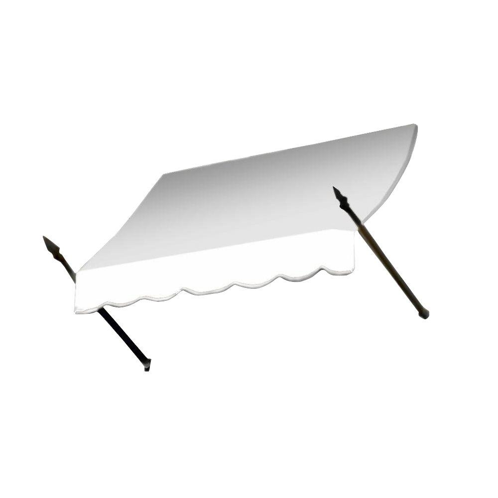 AWNTECH 18 ft. New Orleans Awning (44 in. H x 24 in. D) in OffinWhite