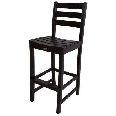 Monterey Bay Charcoal Black Patio Bar Side Chair