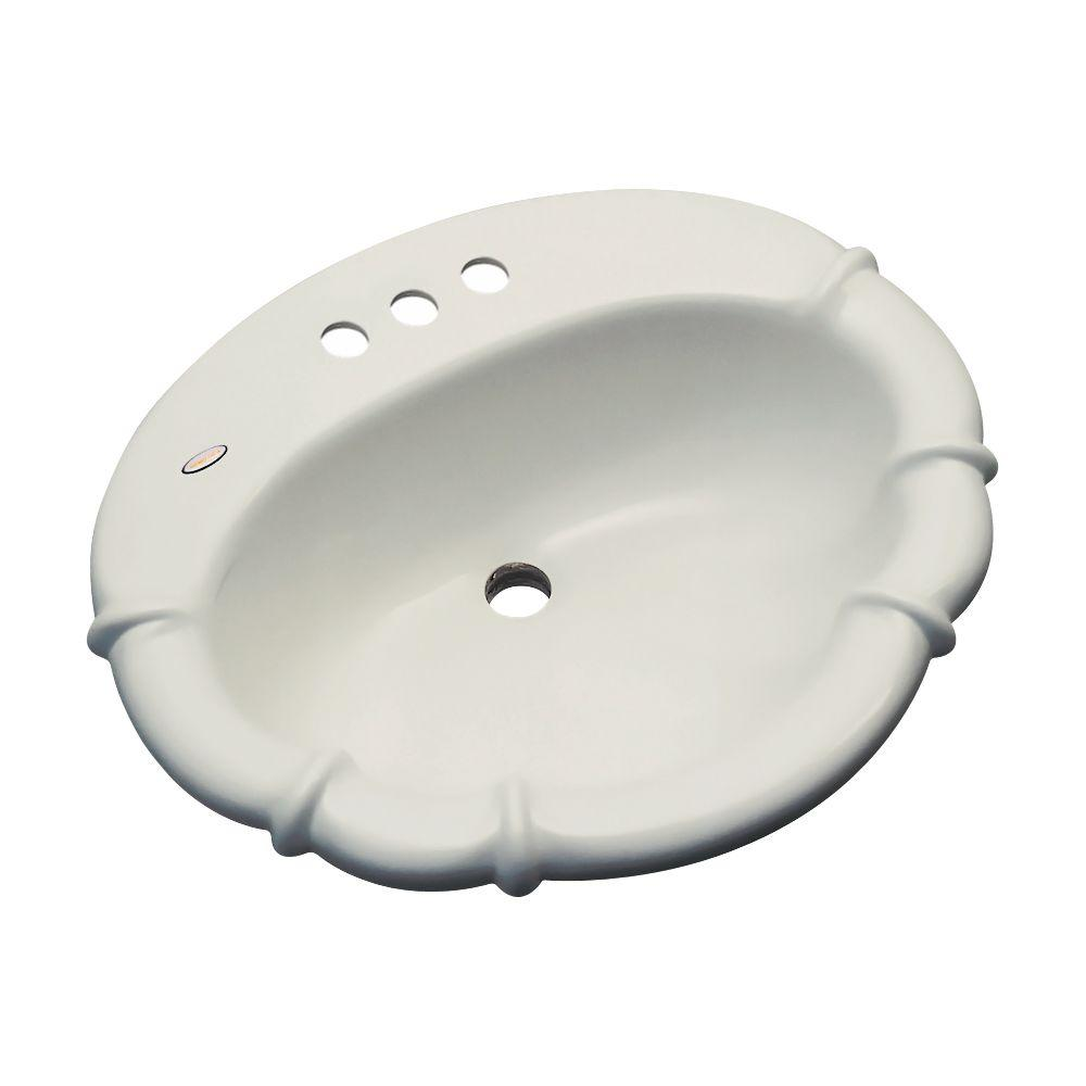 Magnolia Drop-In Bathroom Sink in Tender Gray