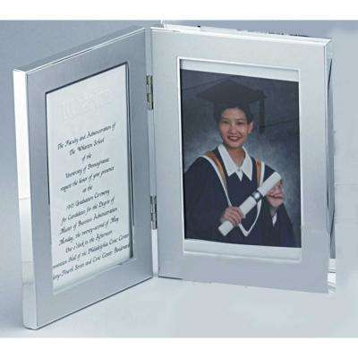 """4 in. x 6 in. """"Jolene"""" Double Picture Frame"""