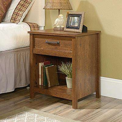 Cannery Bridge 1-Drawer Milled Cherry Nightstand