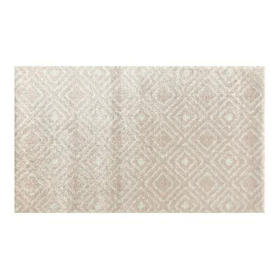 In-Home Washable/Non-Slip Millinnial Pink 2 ft. 3 in. x 3 ft. 11 in. Area Rug & Mat