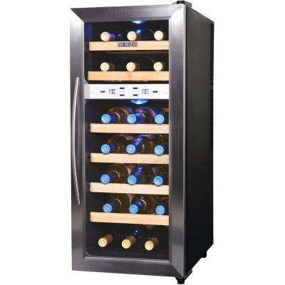 21-Bottle Thermoelectric Wine Cooler