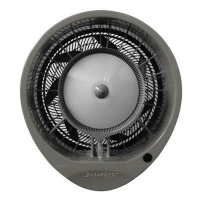 Hurricane 29 in. Wall Mount Misting Fan in Gray, Cools 1,500 sq. ft.
