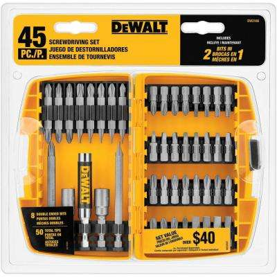Screwdriving Set (45-Piece)