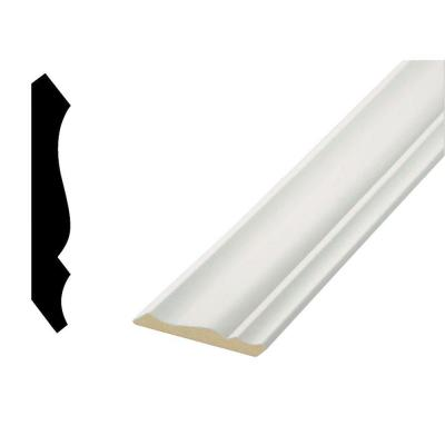 WM49 7/16 in. x 3-5/8 in. MDF Crown Moulding