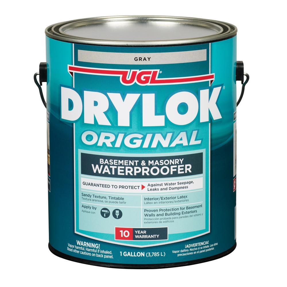 DRYLOK 1 Gal. Gray Masonry Waterproofer-27613