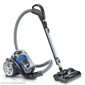 Prolux Bagless Canister Vacuum Cleaner With 2-Stage HEPA Filtration and Power Nozzle by Prolux