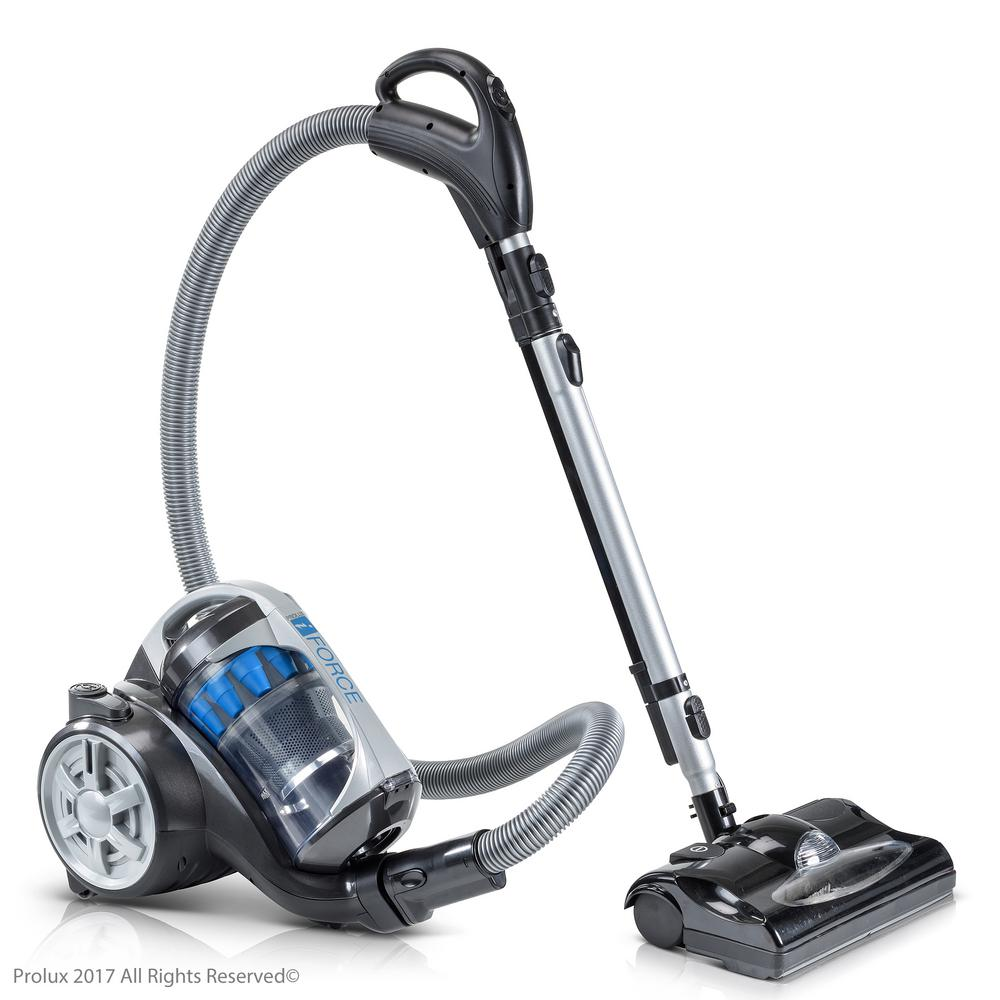 Prolux Bagless Canister Vacuum Cleaner With 2 Stage Hepa