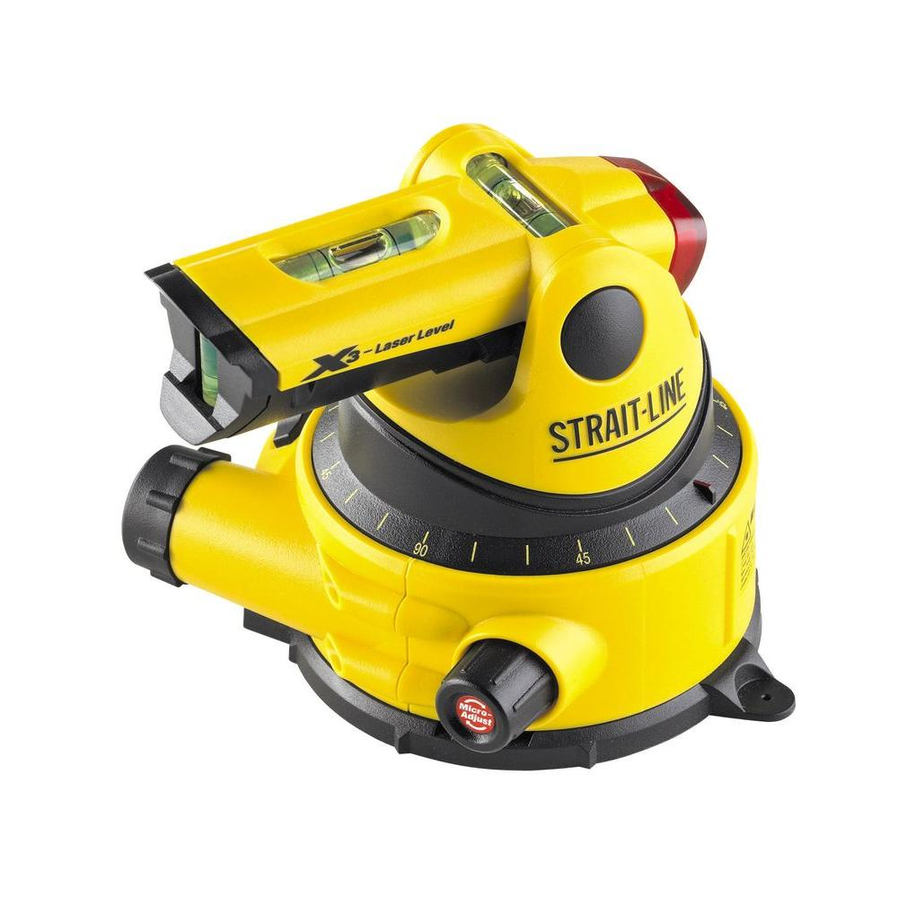 Strait Line Sx3 Electronic Tool Laser Level 6041103 The