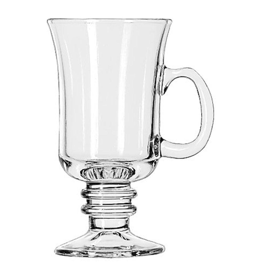Libbey 8-1/2 oz. Irish Coffee Mug in Clear (Box of 12)