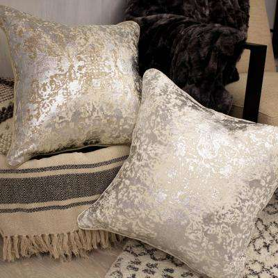 Overture Ivory Decorative Pillow