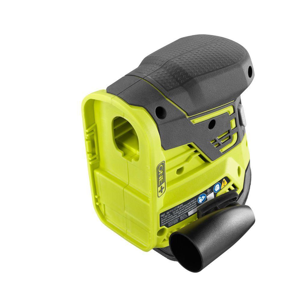 Corner Cat Dust Vacuum Hose Port Grinding Sander Adaptor Tool Ryobi 18-Volt ONE
