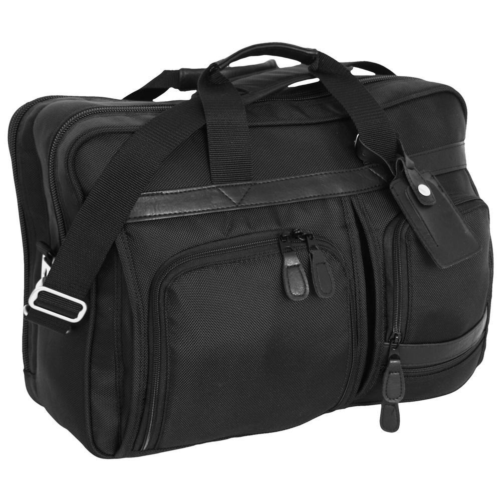 Black Signature Attache Laptop/Briefcase